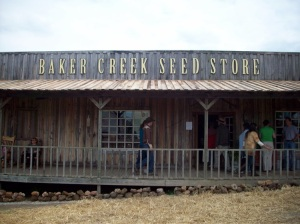 The seed store at Baker Creek
